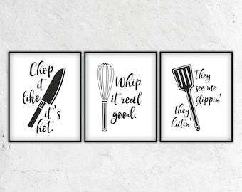 kitchen wall decor, kitchen puns, kitchen decor, kitchen wall art, kitchen art, kitchen signs, kitchen print,kitchen sign,kitchen poster