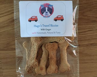 Hugo's Travel Biccies - With Ginger