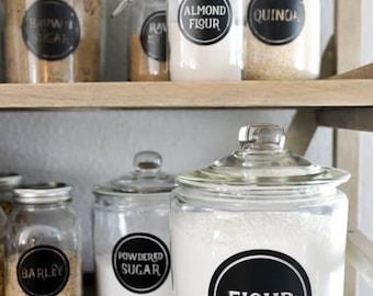 Kitchen & Pantry Labels