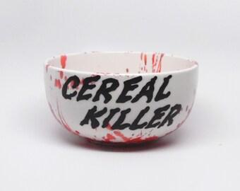 Dexter Cereal Bowl, Cereal Bowl, Cereal Killer, Bowl, Serving Bowl,  Serveware, Dinnerware, Play-on-Words, Gift, OOAK, original copyrighted