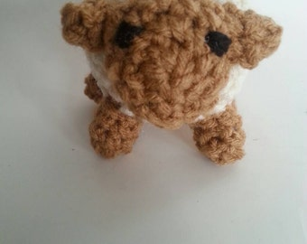 Crochet Lamb Plush Toy