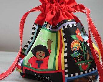 Teacher Gift, Teacher Gift Bag, School Bag, Gift Bag