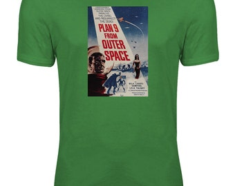 Plan 9 from Outer Space - Classic B-Movie Sci-Fi Womens T-shirt