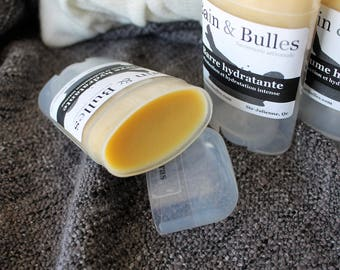 Barre hydratante pour les pieds en tube, peau sèche, crevasses, dry skin, pieds, talon, hydratant, baume protecteur
