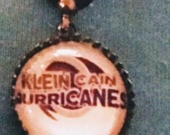 Klein Cain logo charm necklace