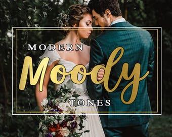 Lightroom Presets Modern Tones, Lightroom Wedding Filter, Portrait Filter, Lightroom Wedding, Moody, Modern Tones Overlays