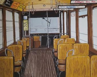 Acrylic tram