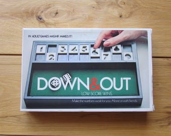 1979 Mag-Nif, Inc Down and Out Dice Game