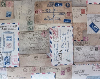 Tim Holtz - Eclectic Elements Correspondence- Letter - PWTH048
