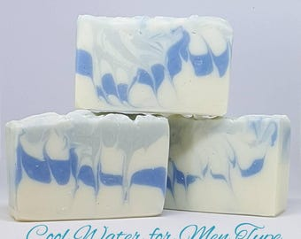 Cool Water for Men Type Handcrafted Soap