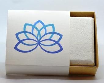 All natural Ginger White Tea Bubble Bar, Biodegradeable Formula