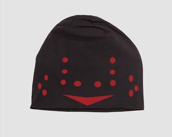 Jason Voorhees Style Hockey Mask holes Beanie