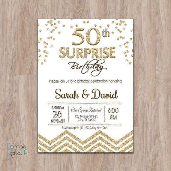 Surprise 50th birthday invitation 50th surprise birthday filmwisefo