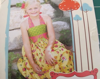 Girl's Bubble Dress an Izzy and Ivy Design 2-4 5-6 7-8 10-12