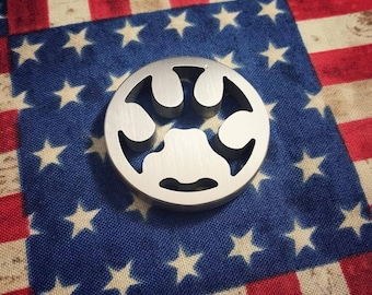 Cat paw coin