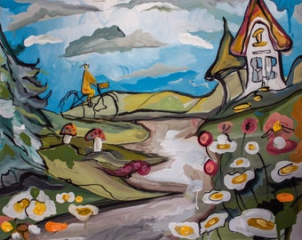 Original paintings and prints by Georgina Hawitt