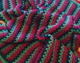 Crochet Blanket / Baby Blanket / Small Blanket