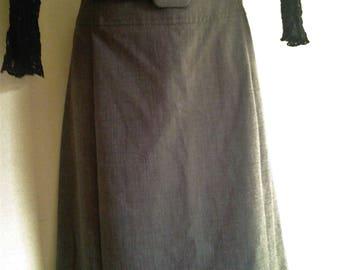 Ladies Vintage Australian Made Summer Office Skirt