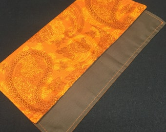 Orange Paisley Hank