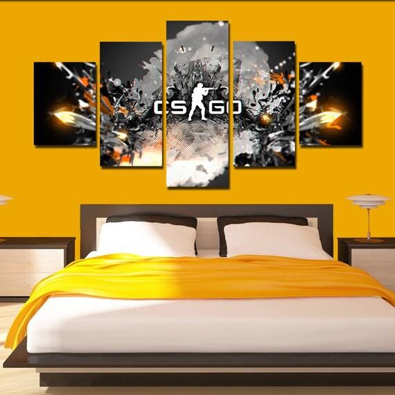 CS go Counter Strike Canvas Art Counter Strike poster set