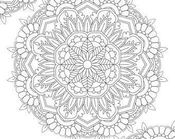 Mandala Coloring Page - Printable Coloring Pages - 04
