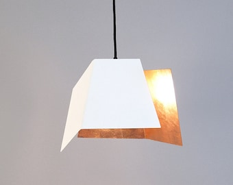 Pendant Light with Rose Gold COPPER by renna deluxe