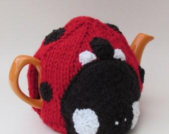 Ladybird Tea Cosy Knitting Pattern