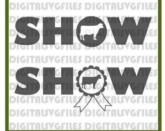 Show Milk Cow Livestock CowSVG File,Show Dairy Cow SVG File,Farm Animals SVG-Vector Clip Art Cow Farm Showl Cricut,Cameo,Silhouette