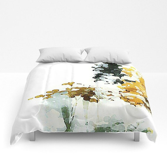 gray and gold queen comforter bed cover bedspread white. Black Bedroom Furniture Sets. Home Design Ideas