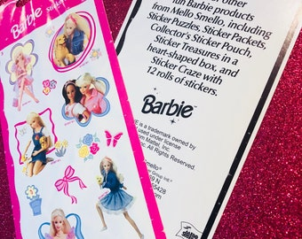 Mello Smello Full Barbie Sticker Sheet
