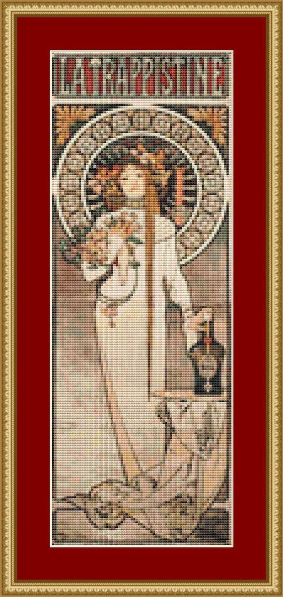 La Trappistine Cross Stitch Pattern /Digital PDF Files /Instant downloadable
