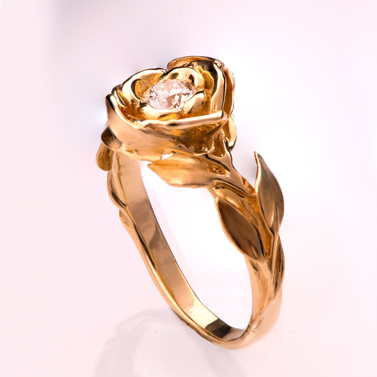leaf ring of beautiful rings wedding gold perth
