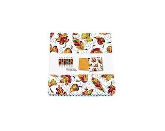 Autumn Breeze~ Charm Pack 42, 5In Cotton Squares -By Benartex