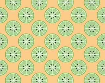 With a Twist of Lemon Yellow and Green - Just Add Sugar by Simple Simon & Co for Riley Blake - 100% cotton quilting fabric