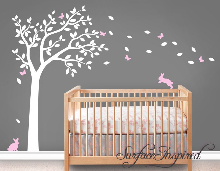 wall decal nursery wall decals tree decal with adorable