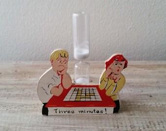 Vintage three minute egg timer