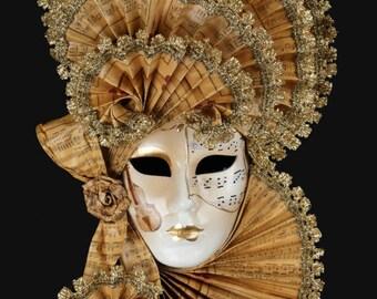 Venetian Mask Mirandolina