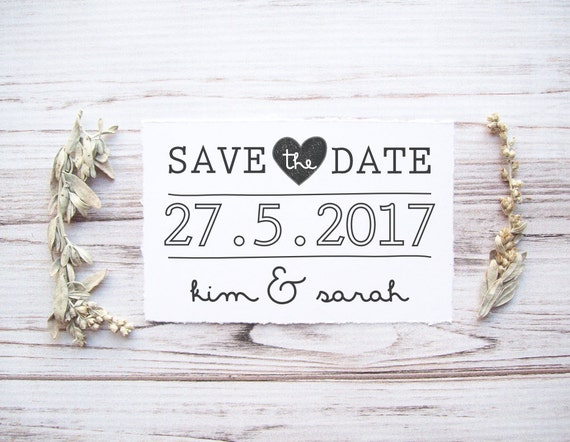 save the date st custom wedding st with names