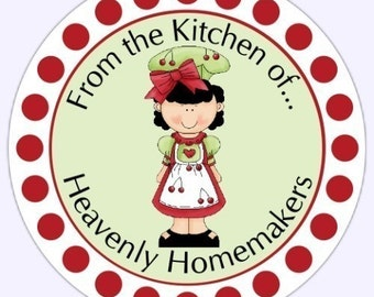 Custom Kitchen Canning Labels, Stickers - Personalized for YOU