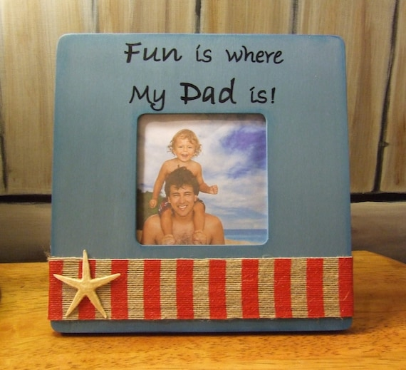 Father\'s Day GIFT to Dad from child Nautical Frame Personalized ...