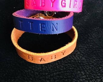 BDSM logo bracelets many color options and titles