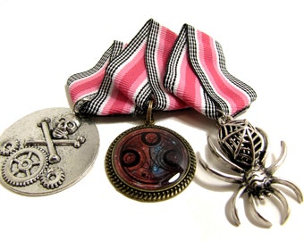 Cosplay Medal - Steampunk Dieselpunk Pirate Faux Military - Design Your Own