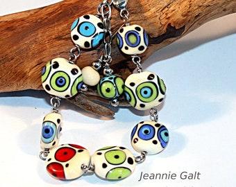 Lampwork  Art Jewelry by Jeanniesbeads #3106