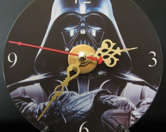Brand New Darth Vader Cd Clock Star Wars Science Fiction Nice!!