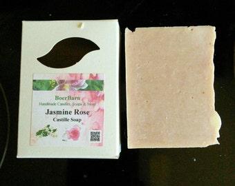 Jasmine Rose Olive Oil Castille Soap