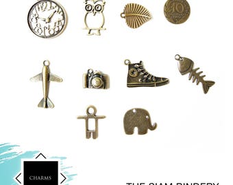 SALE: Charm set C - 20 charms