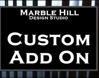 Custom Request Add on Item