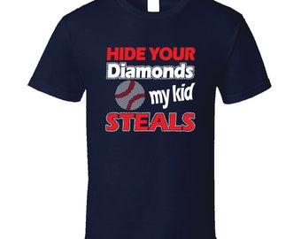 Hide Your Diamonds My Kid Steals T Shirt
