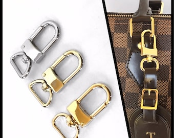 Bag Charm or Luggage Tag Hook for Louis Vuitton  / Purse Strap Hooks / Gold, Light Gold or Silver