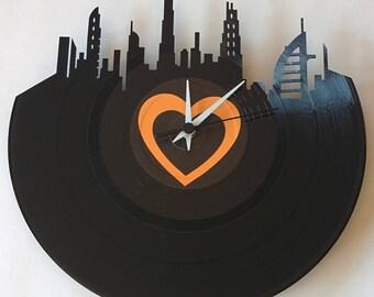 Vinyl Record Clock (Dubai)